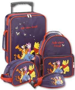 Cartoon Print Hand Luggage Vintage Large Winnie The Pooh Holdall Luggage Trolley Travel Bag. £ Prime. Disney