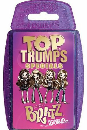 Winning Moves Top Trumps - Specials - Bratz Passion 4 Fashion product image