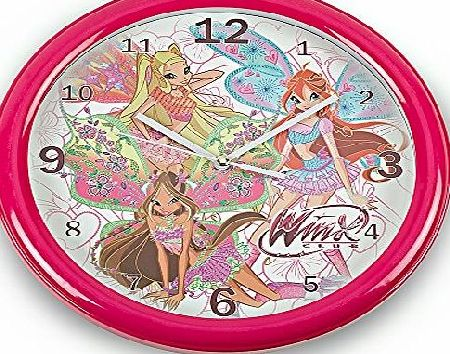 Winx Official Licensed Winx wall Clock - Licensed Winx Merchandise