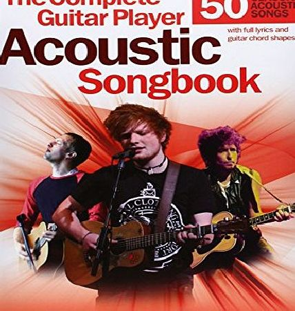 Wise Publications The Complete Guitar Player Acoustic Songbook Gtr Book