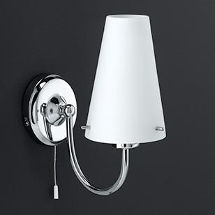 pull cord wall light