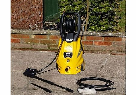 Blaster Max 2400 watt 165bar Pump Power Washer & Accessories - Includes Car Brush, Drain Cleaner & Turbo Lance