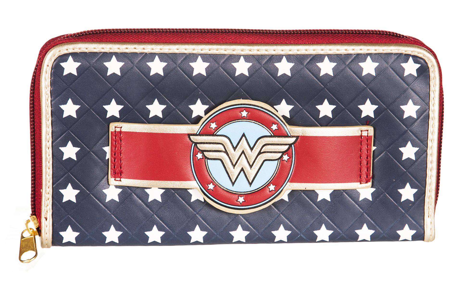 Wonder Woman Star Print And Logo Wallet product image