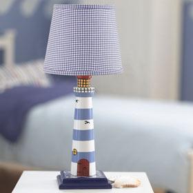 lighthouse lamp. Black Bedroom Furniture Sets. Home Design Ideas