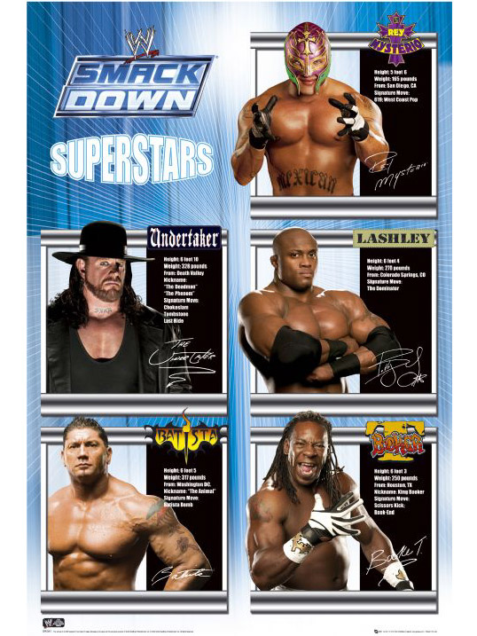 wwe superstars images. WWE Smackdown Superstars