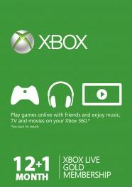 Xbox Live-Microsoft, 1559[^]30072-DIGITAL Xbox Live Gold Membership 12 1 month