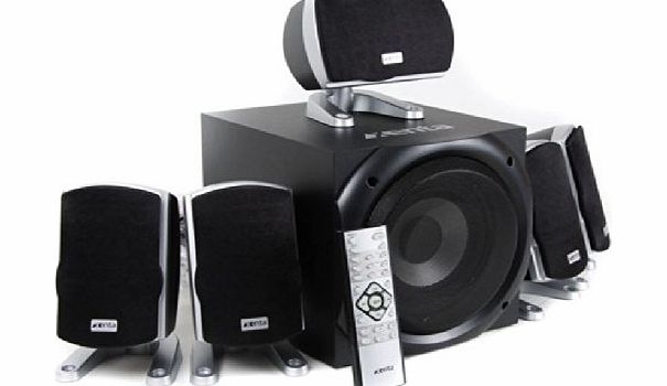 Xenta XForce 5.1 Surround Sound Speakers - 80W RMS product image