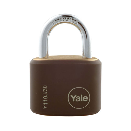 yale 15mm Brass Padlock - 4 Pack product image