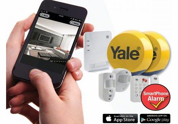 EF-KIT3 - Yale Easy Fit SmartPhone Alarm with PIR Camera TEST