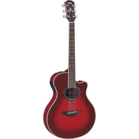 Yamaha APX700 Electro Acoustic Guitar Sun Red