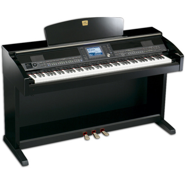 yamaha clavinova cvp403 polished ebony musical other