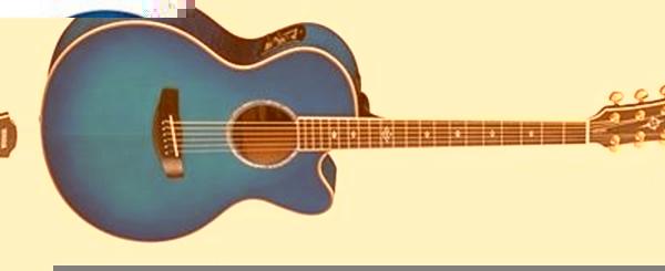 Yamaha CPX900 Electro Acoustic GuitarUltramarine Blue ...