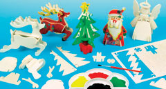 yellowmoon Christmas Woodcraft Kits