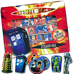 Dr. Who Sticker Box