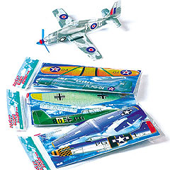 Fighter Plane Glider Kits