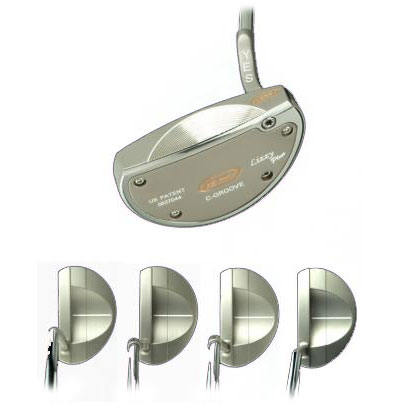 Yes Golf Lizzy Plus Putter Plus Range