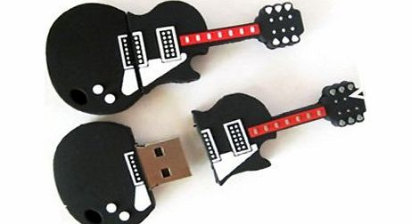 YooUSB 4GB Cool Guitar Style USB Flash Pen Drive Memory Stick Gift product image
