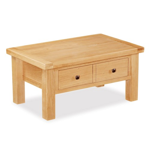 coffee tables oak coffee table 3 drawer amp shelf wealden : york oak coffee table with drawer 592 053 from www.comparestoreprices.co.uk size 500 x 500 jpeg 23kB