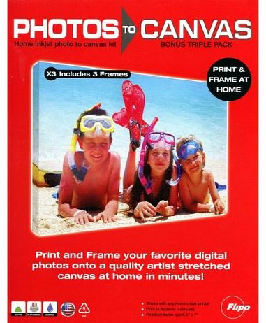 YouFrame You Frame Photos to Canvas (Triple pack) product image
