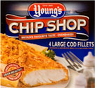 Youngs (Chilled and Frozen) Youngs 4 Large Cod Fillets (540g) Cheapest in ASDA Today!