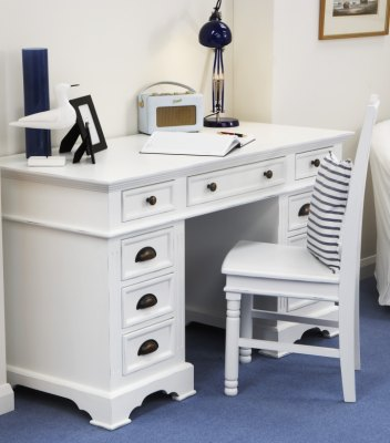 Your Price Furniture Kristina White Painted Desk and