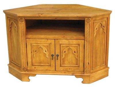 Your Price Furniture Me val 2 Door Corner TV Unit