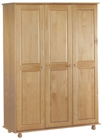 Your Price Furniture.co.uk Pickwick 3 Door Fitted Wardrobe product image