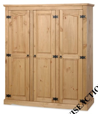 Your Price Furniture.co.uk Porto 3 Door Fitted Wardrobe product image