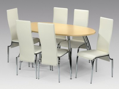 Dining  on Chrome Dining Set By Tuba