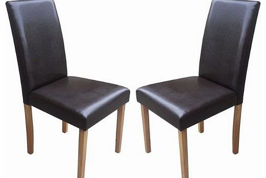 leather dining chair your price furniture set of 4 faux  : your price furniture set of 2 brown faux leather torino dining chairs brown with padd from www.comparestoreprices.co.uk size 531 x 356 jpeg 17kB