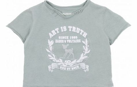 Art is Truth T-shirt Green water `3 years