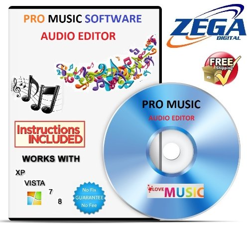 STUDIO MUSIC MP3 AUDIO SOUND EDITING RECORDING SOFTWARE FOR PC AND MAC CD DISC
