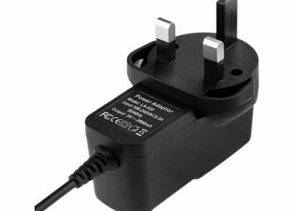 ZJchao DC 5V 2A AC Power Adapter Wall Charger with Round 2.5mm Jack for Android Tablet PC MID eReader UK Plug product image